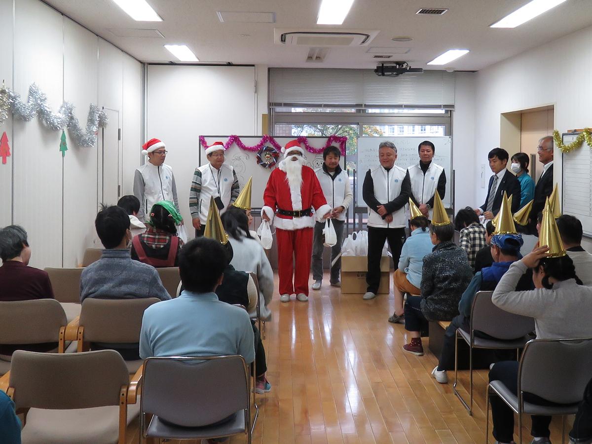 福祉施設へクリスマスプレゼント2018